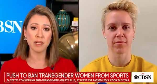 Maillot de bain Weak US Soccer midfielder says bills banning biological males from females's sports activities 'invent uphold white supremacy'