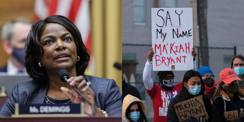 Maillot de bain Bag. Val Demings Defends Officer In Ma'Khia Bryant's Loss of life
