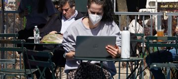 Maillot de bain Covid connections: Pandemic narrows digital divide as extra Brits whisk surfing