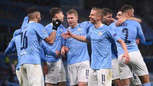 Maillot de bain Twitter reacts as Manchester City attain first ever Champions League final