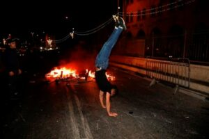 Maillot de bain More Jerusalem clashes on eve of contentious Israeli parade