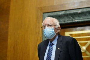 Maillot de bain Bernie Sanders Urges Democrats to Ride Infrastructure Invoice Without GOP Give a exhaust to