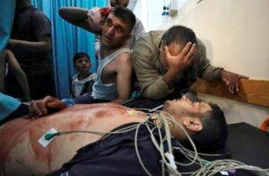 Maillot de bain Gaza militants, Israel commerce fresh rocket fire and airstrikes