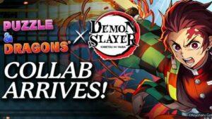 Maillot de bain Demon Slayer: Kimetsu No Yaiba Slices Into Puzzle and Dragons In Original Collaboration