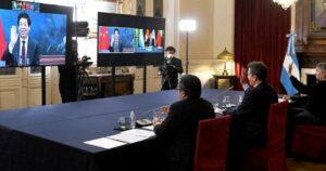 Maillot de bain China también sumó su respaldo a Alberto Fernández en renegociación de la deuda