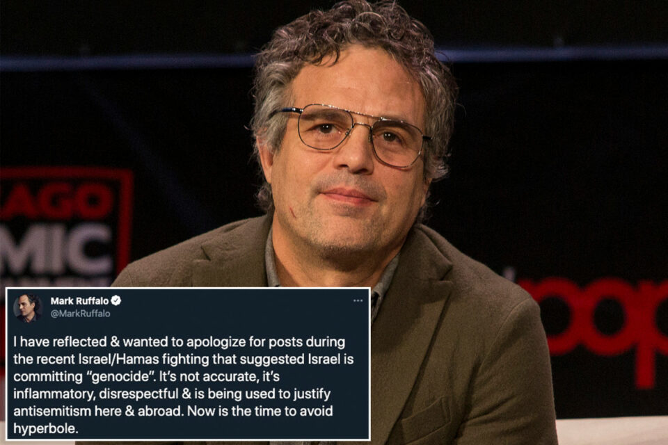 Maillot de bain Tag Ruffalo apologizes for tweet suggesting Israel committed 'genocide' – Unique York Put up