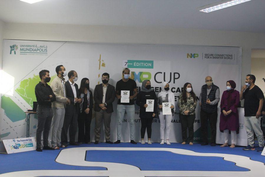 Ecole L'Ecole d'Ingénieurs de l'Université Mundiapolis se classe 2ème École au concours multinational NXP Cup EMEA 2020/2021