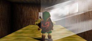 Maillot de bain Protótipo de Zelda: Ocarina of Time revela que o jogo quase teve portais