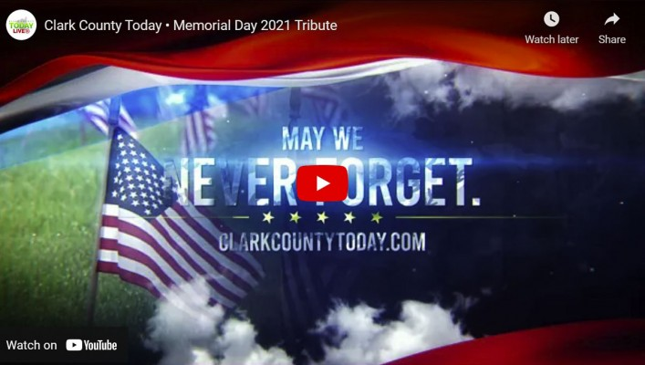 Maillot de bain VIDEO: Clark County This day • Memorial Day 2021 Tribute