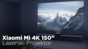 Maillot de bain Imate li dovoljno veliki zid za Xiaomi Mi 4K 150 laserski projektor? (video)