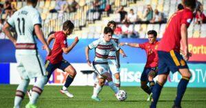 Maillot de bain Portugal und Deutschland stehen im Finale der U21-Europameisterschaft