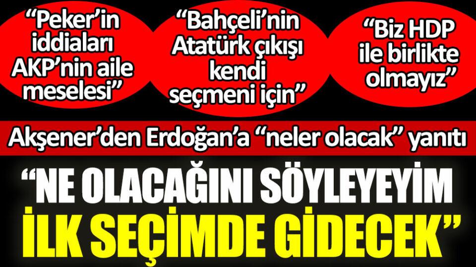 Maillot de bain İYİ Parti lideri Meral Akşener'den Erdoğan'a neler olacak yanıtı