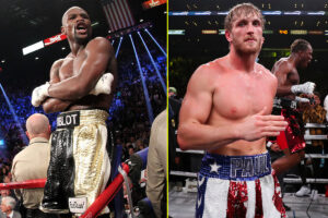 Maillot de bain Floyd Mayweather vs Logan Paul: UK open time, tips outlined, undercard outcomes, dwell stream – boxing epic and YouTuber clash in weird bout