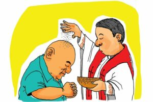 Maillot de bain CBCP tells monks to sprinkle ashes on trustworthy's heads