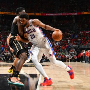 Maillot de bain Which Model of Joel Embiid Will Philadelphia Bag the Leisure of the Manner vs. Hawks