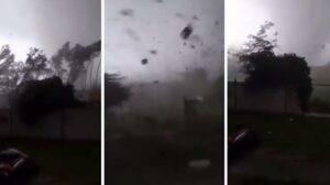 Maillot de bain Une tornade fait une centaine de blessés en République tchèque (vidéo)