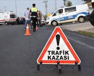 Maillot de bain Kastamonu'da havaalanı yolunda kaza: 4 yaralı