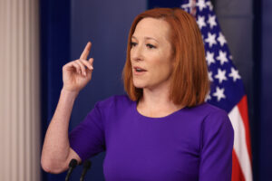 Maillot de bain Jen Psaki asked whether Biden is planning for Trump to test out and re-clutch White Dwelling in August