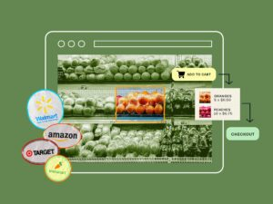 Maillot de bain THE ONLINE GROCERY REPORT: The coronavirus pandemic is thrusting online grocery into the spotlight within the US – right here are the players that can emerge on the stop of the market
