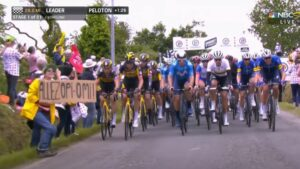 Maillot de bain A narcissist with designate precipitated an huge pile-up in some unspecified time in the future of the Tour de France