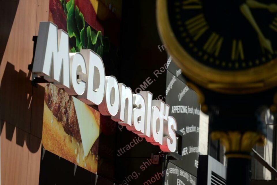 Maillot de bain Video captures McDonald's security violently beating and kicking girl after prank long previous sinful