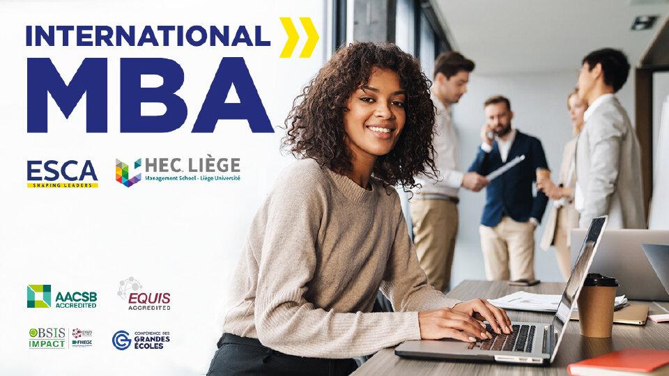 Ecole Partenariat ESCA – HEC Liège pour un MBA en path des cadres expérimentés