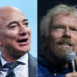 Maillot de bain Richard Branson wint 'Condominium Creep' van Bezos: 9 dagen eerder naar de ruimte