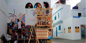 Ecole Les fresques murales du Moussem d'Asilah redonnent vie à la cité des arts