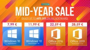 Maillot de bain Разпродажба: House windows 10 Pro Key за €7,ninety nine, Workplace 2019 за €28,59 и повече!