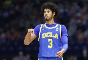 Maillot de bain UCLA basketball: Johnny Juzang withdraws from NBA Draft and will return next season