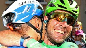 Maillot de bain Cavendish equals Tour de France stage document