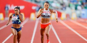Maillot de bain Gabby Thomas Says 'Gloomy Boycott' Of Olympics 'In actual fact Hurts'