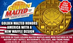 Maillot de bain Golden Malted Honors The US with a Unique Waffle Assemble – Golden Malted is The US's #1 Waffle