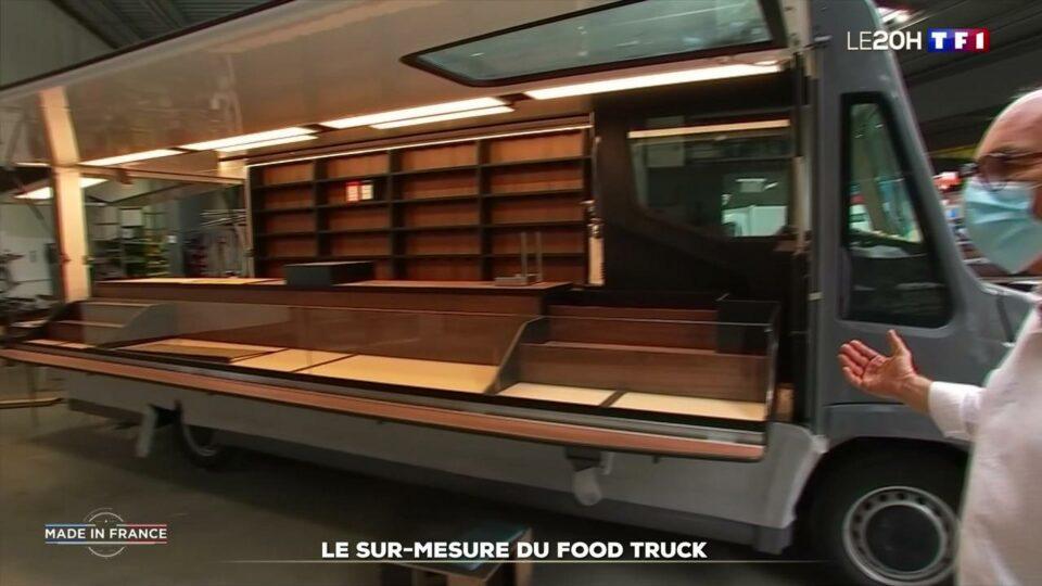 Epicerie Dans la Loire, une entreprise fabrique des food truck sur-mesure