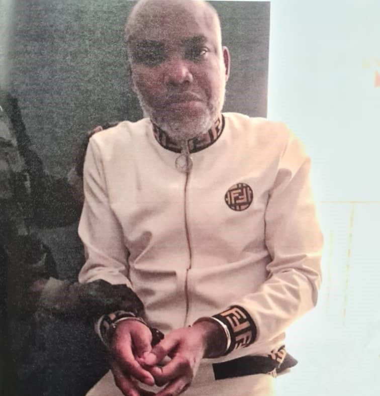 Maillot de bain Nnamdi Kanu's doctors prevented from seeing him, his health condition deteriorating in DSS custody — IPOB •Alerts UN, AU, EU