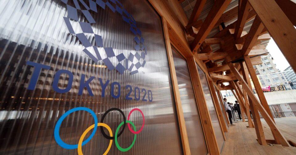 Maillot de bain Två idrottare har testats positivt i OS-byn