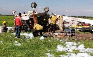 Maillot de bain Desplome de aeronave fue por realizar un viraje para descender: Gobierno de Durango