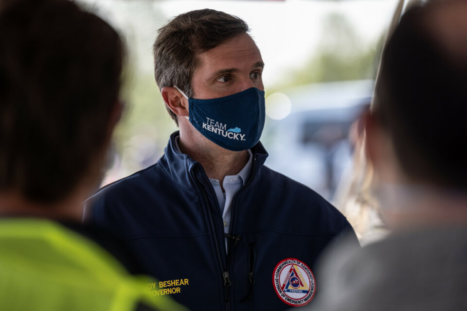 Maillot de bain Kentucky Gov. Pushes for Masks After Entirely-Vaxxed Lawmakers Spend COVID Amid Delta Surge