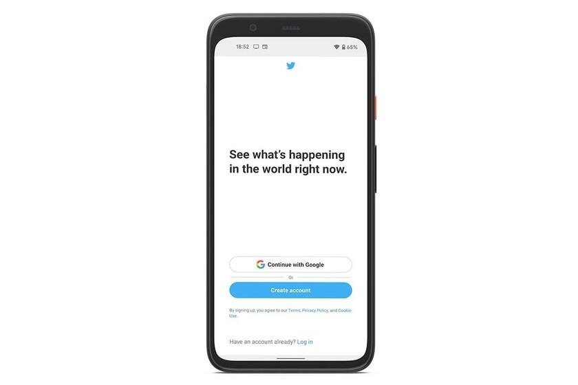 Maillot de bain Con la beta de Twitter puedes iniciar sesión con tu cuenta de Google