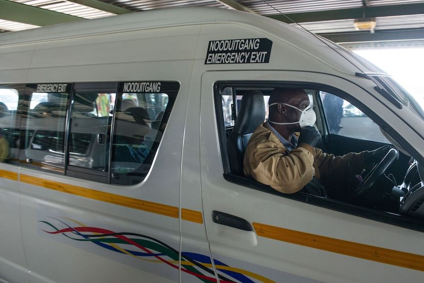 Maillot de bain 'The SA taxi industry is a power to be reckoned with' – James Martin on the way in which it stood up one day of riots