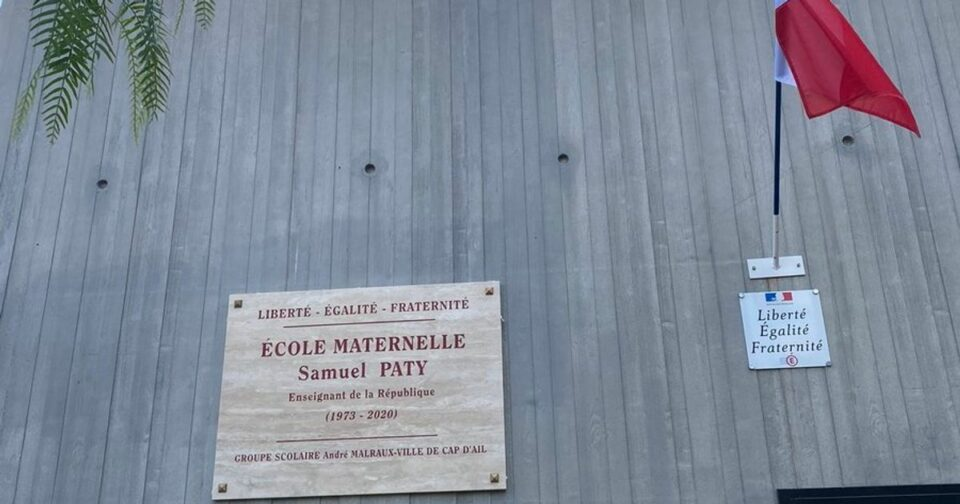 Ecole Une école rebaptisée Samuel Paty, une première en France