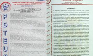 Maillot de bain Potosí: Alarma en el Magisterio por citación a profesores por hechos de 2019; denuncian persecución
