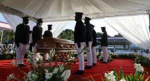 Maillot de bain Haiti Says Farewell To Its Slain President