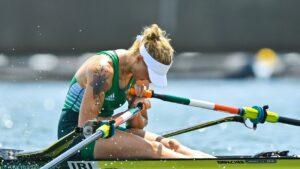 Maillot de bain Sanita Puspure withdraws from Olympic B final after shock semi-final exit and says she has 'not been effectively' for days