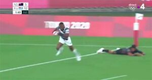 Maillot de bain Top 14 – Qui est Jiuta Wainiqolo, tout juste champion olympique et futur ailier du RCT ?