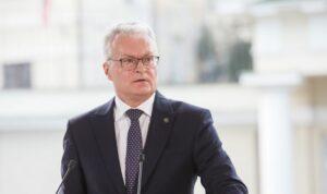 Maillot de bain G. Nausėda EVT vadovui: ES reakcija apsaugant išorinęsieną turi būti greita