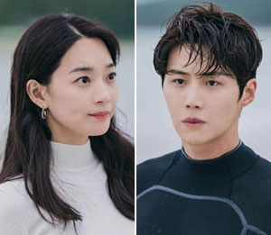 Maillot de bain Shin Min-a Pairs with Kim Seon-ho in Current TV Series