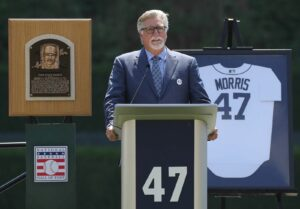 Maillot de bain Detroit Tigers analyst Jack Morris suspended indefinitely for making an offensive comment about Shohei Ohtani