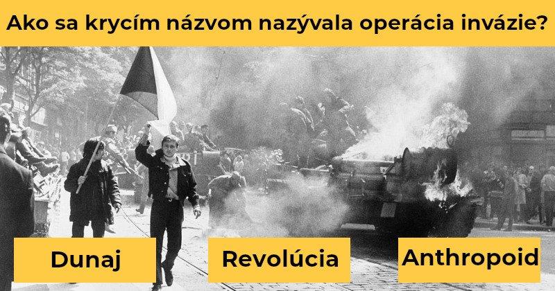 Maillot de bain Invázia make Československa: Tento kvíz z udalostí v roku 1968 zvládne len pamätník tvrdého socializmu
