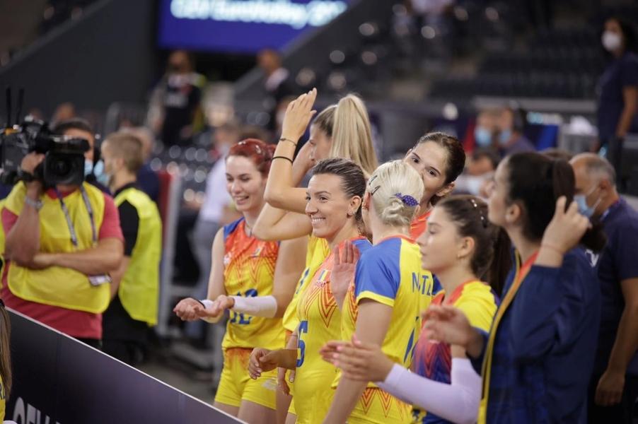 Maillot de bain CE Volei (f): România, ultimul loc în Grupa D (0-3 vs Suedia)